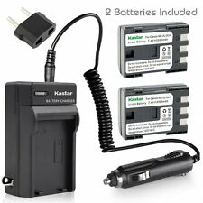 NB-2L Battery & Regular Charger for Canon PowerShot G7 G9 S30 S40 S45 S50 S60