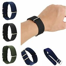 22mm UNISEX INFANTRY Military Army Fabric Buckle Nylon Wrist Watch Band Strap