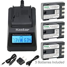 NB-2L Battery & Fast Charger for Canon EOS 350D, 400D, Rebel XT, Rebel XTi