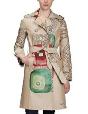 Desigual village bamboo Women's Button Front Long Coat 21e2964 - new with tags
