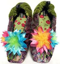 "NEW Goody Goody Bon Bon comfy Silk Slippers ""Frida"" Womens size Small - Large"