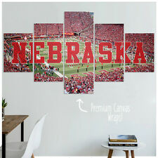 University of Nebraska Cornhuskers Football Canvas Wall Art