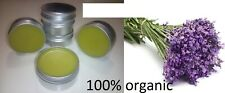 CALMING & RELAXING LAVENDER Body Balm & Scrub with Organic Olive Oil & Beeswax