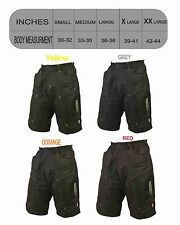 Phobos II MTB Mountain Bike Shorts Baggy Cargo Shorts bicycle New Color DKBS110