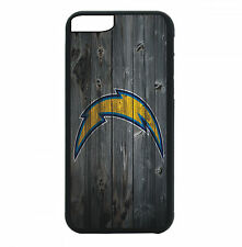Los Angeles LA Chargers Phone Case For iPhone X 8 8+ 7 6 PLUS 5 Black TPU Rubber