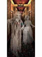 Scary Wall Poster Haunted House Ghostly Hallway Decoration Halloween Ghost Decor