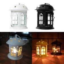 MagiDeal Wrought Iron Candle Lantern Tealight Candlestick Holders Party Wedding