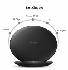 Genuine Wireless Fast Charger Convertible Pad For Samsung Galaxy S8 & S8+ Black