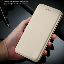 Slim Leather Case Magnetic Flip Card Slot Wallet Pouch Cover For iPhone/Samsung