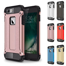 Shockproof Bumper Armor Rubber Hybrid Hard Case Cover For Apple iPhone 8 7 Plus