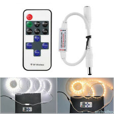 DC 5~24V LED Remote Controller Dimmer with Remote Control RF Wireless RF