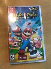 NINTENDO SWITCH MARIO + RABBIDS KINGDOM BATTLE FAST FREE SHIPPING *IN HAND* NEW!