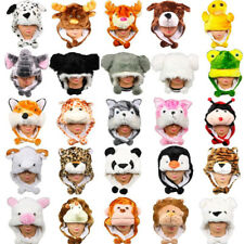Cute Cartoon Animal Winter Hat Plush Beanie Winter Ear Warm Fluffy Cap Earmuff