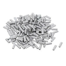 200pcs Single Fishing Crimp Sleeves Tube Wire Leader Sleeve Size 1.0mm-1.5mm