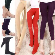 Women Winter Skinny Slim Thick Warm Stretch Pants Footless Tights Stockings M8M3