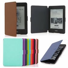 Smart Magnetic Wake / Sleep Ultra Thin PU Leather Case Cover For Amazon Kindle