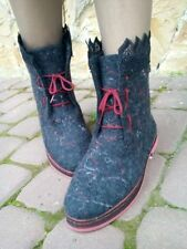 Handmade Womens felted boots, Many different models, Winter Felt wool boots