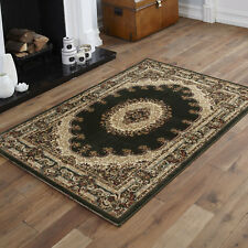 80x150cm TRADITIONAL QUALITY GREEN CLEARANCE RUG SMALLRUG CLASSIC RUG FOR SALE