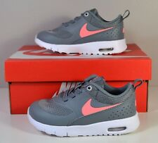 NIB GIRLS YOUTH NIKE AIR MAX THEA COOL GREY RUNNING SHOES SNEAKERS SIZE 8C-3Y