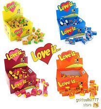 Love is... Chewing Gum Many Variations Different Tastes 100 Pcs Free Shipping
