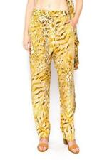 New GOLDEN LEOPARD - SILK EMBELLISHED TROUSERS TheSwankStore