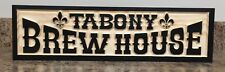 Old West Brew House Saloon Sign Man Cave Sign Rustic Bar Sign Father's Day Gift