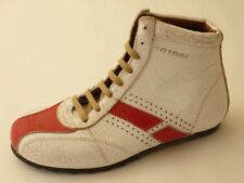 Tatami Cecil Von Birkenstock Ankle Boots Trainers 36 Leather White/Red Narrow