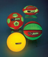 Franklin Glow in the Dark Playground Ball, Football Soccer Ball & Basketball