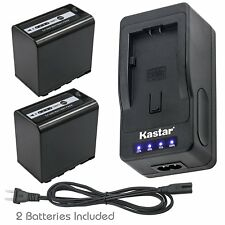 AG-VBR89G Battery or Super Fast Charger for Panasonic AG-HPX250PJ HPX255 HVX200