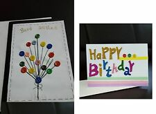 Handmade Paper Quilling Greeting Cards Happy Birthday and Best Wishers