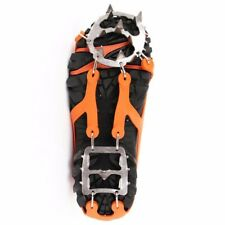 Climbing Shoes Ice Snow Crampons Spike Slip Anti Cleats Teeth Covers Grip Hiking