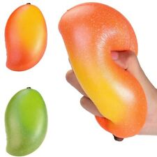 18cm Jumbo Mango Squishy Slow Rising Cream Scented Stress Reliever Funny Toys