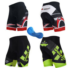 Cycling Shorts Men's Bike Biking Gel Pad Lycra Tights Short Pants Bicycle Wear