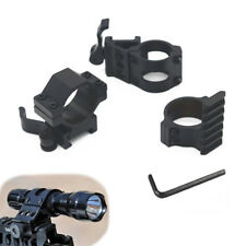 New Tactical Offset For Picatinny Weaver Rail Mount Flashlight Quick Release Set