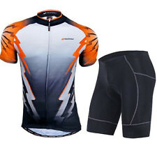 Bicycle Jersey Shorts Suits Men's Cycling Clothing Compression Lycra Half Pants