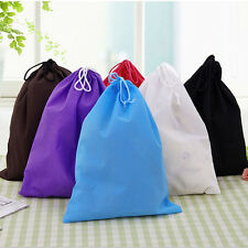Portable Shoes Bag Travel Storage Pouch Drawstring Dust Bags Non-woven GS