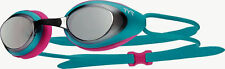 NEW Adult TYR Blackhawk Racing Turquoise Green Pink Mirrored Lens Swim Goggles