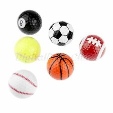 Special  Creative Golf Balls Basketball Baseball Putting 42.7MM Durable Use
