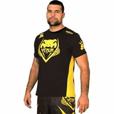 Venum Mauricio Shogun T-Shirt - Black/Yellow