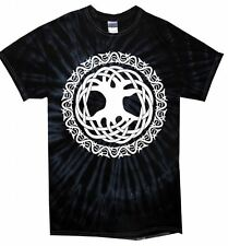 CELTIC TREE OF LIFE TIE DYE T-SHIRT - Pagan Wicca Druid Festival - Colour Choice