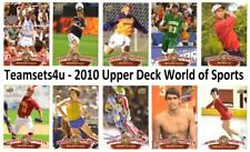 2010 Upper Deck World of Sports Set ** Pick Your Sport **