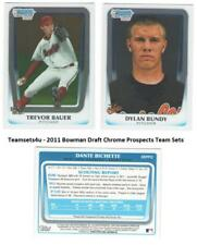 2011 Bowman Draft Chrome Prospects Baseball Set ** Pick Your Team **