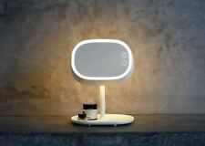 Smart Touch Lighted Makeup Mirror with Table Lamp Cosmetic dresser