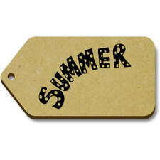 'Summer' Gift / Luggage Tags (Pack of 10) (vTG0001018)