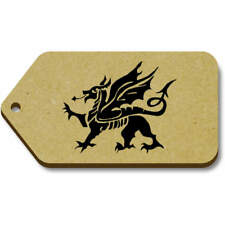 'Welsh Dragon' Gift / Luggage Tags (Pack of 10) (vTG0009502)