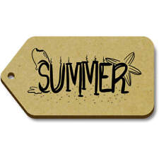 'Summer' Gift / Luggage Tags (Pack of 10) (vTG0009521)