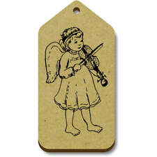 'Violin Angel' Gift / Luggage Tags (Pack of 10) (vTG0006392)