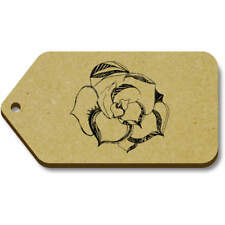 'Patterned Flower' Gift / Luggage Tags (Pack of 10) (vTG0014504)