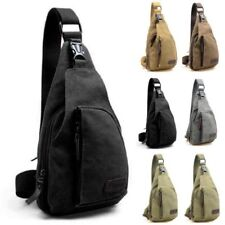 Mens Military Canvas Satchel Shoulder Bag Travel Hiking Backpack Messenger Bag 3