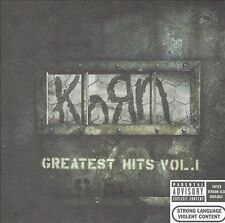 Greatest Hits, Vol. 1 [PA] by Korn (CD,DVD 2004, 2 Discs, Epic (USA))LIMITED ED